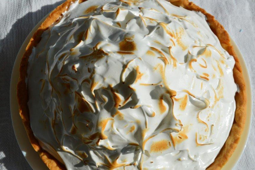 Citrininis morenginis pyragas