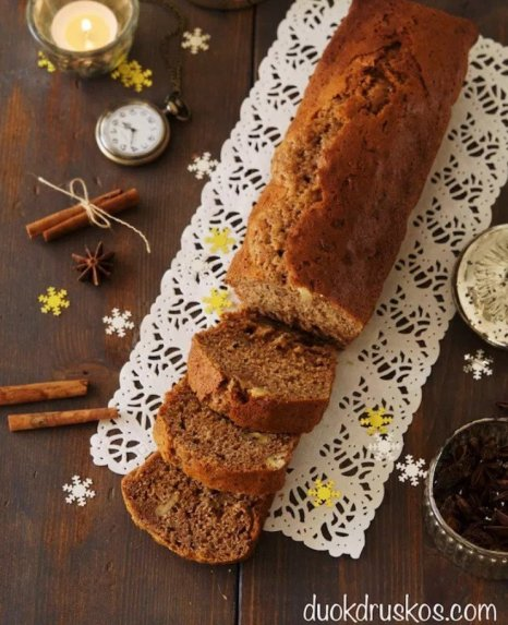 Prancūziška meduolinė duonelė