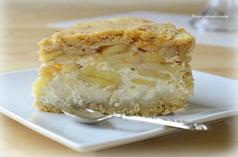 Beatos draugės obuolių pyragas