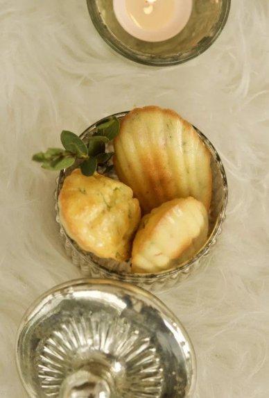 Madelein pyragaičiai su lašiša