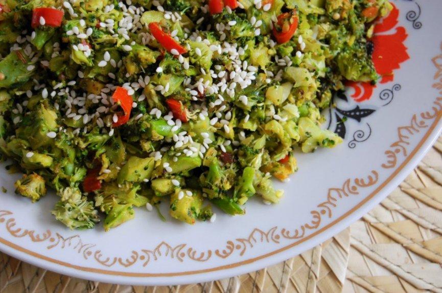 Brokolių ryžiai