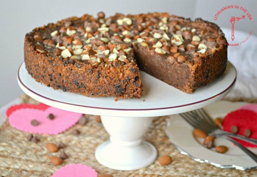 Šokoladinis pyragas Vėžlys