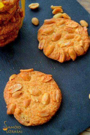 Sausainiai be miltų