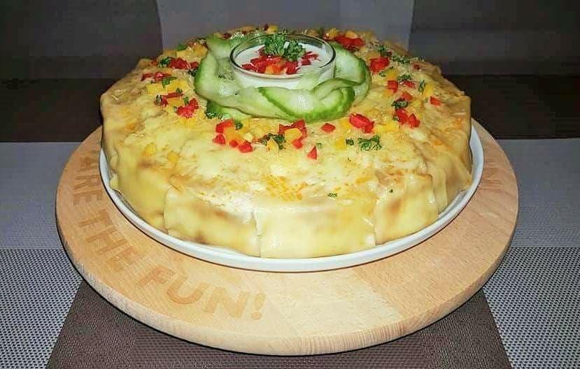 """Gardžioji lazanija kitaip arba """"Lazanijos pyragas"""""""