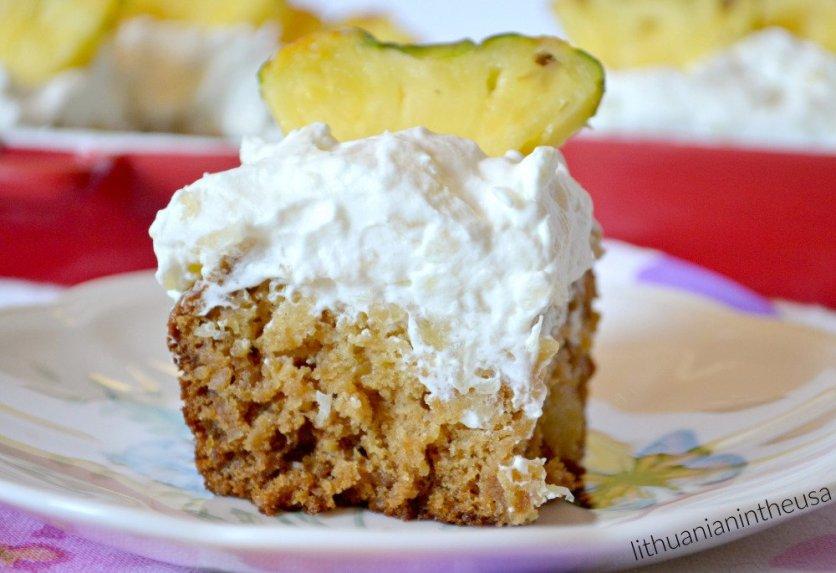 Ananasų pyragas