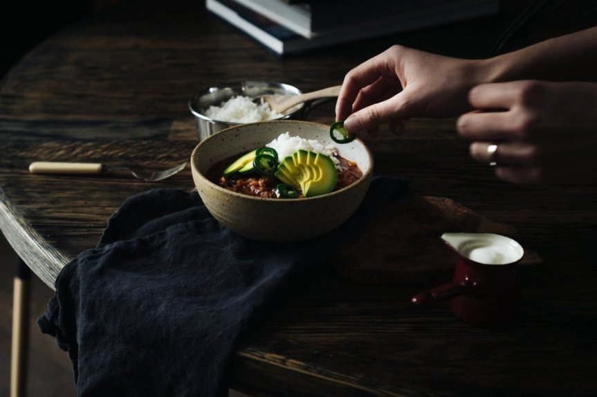 Čili sriuba troškinys