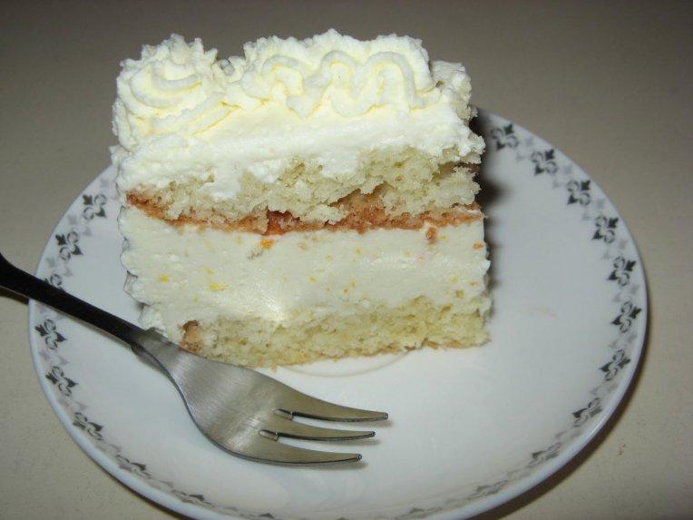 Tortas su varške ir apelsinais
