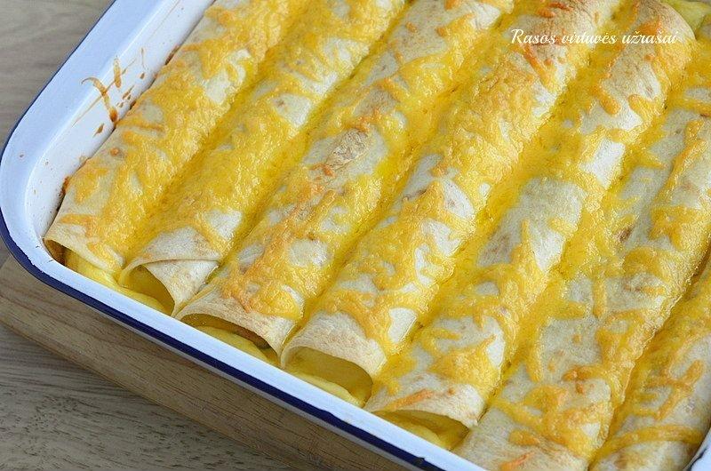 Orkaitėje keptos tortitlijos