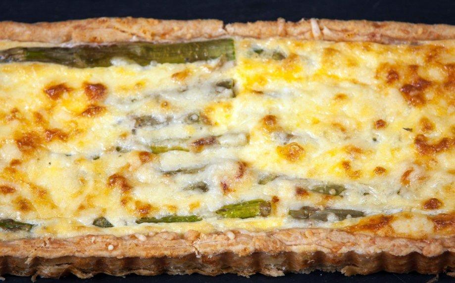 Pyragas su smidrais ir sūriu