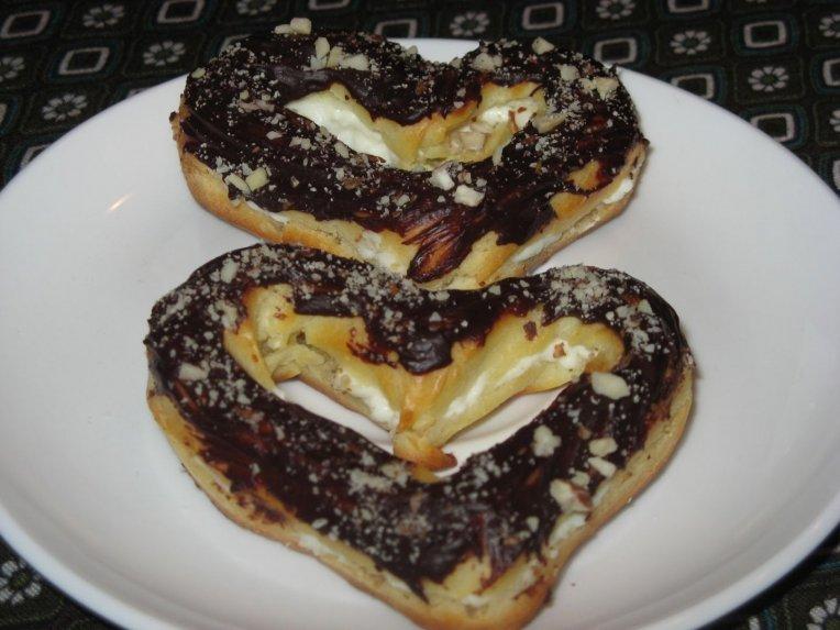Plikyti sausainiai pyragėliai su varške