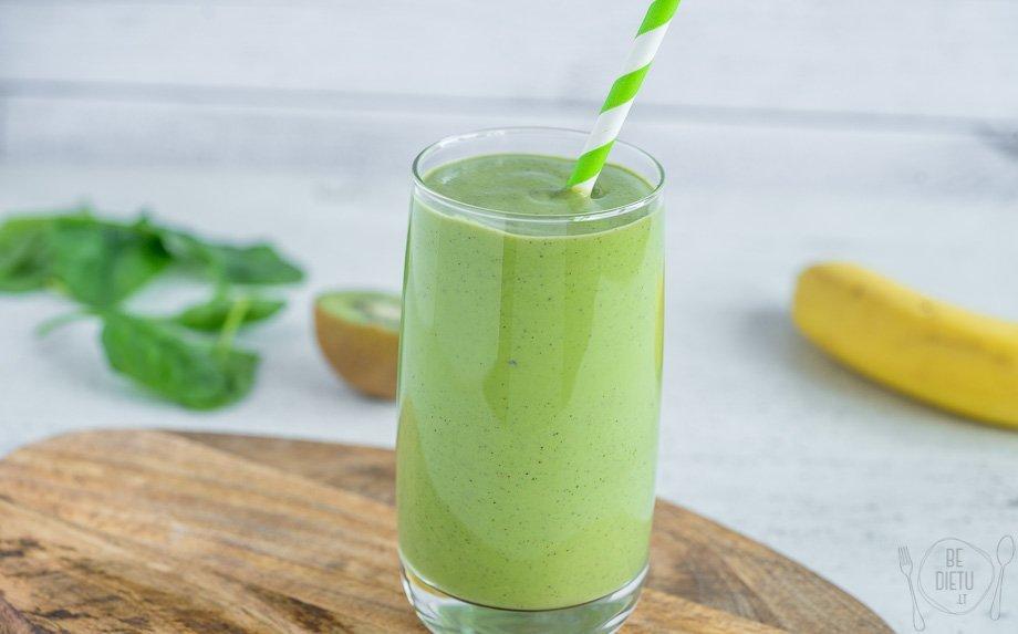 Kremiškas žaliasis kokteilis