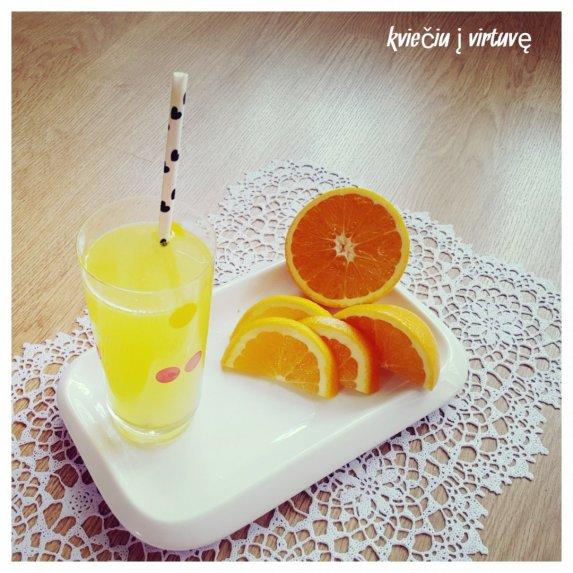 Gaivus apelsinų limonadas