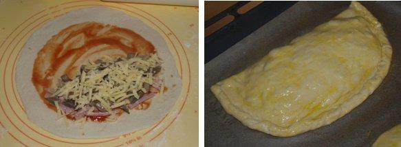 Naminė perlenkta pica