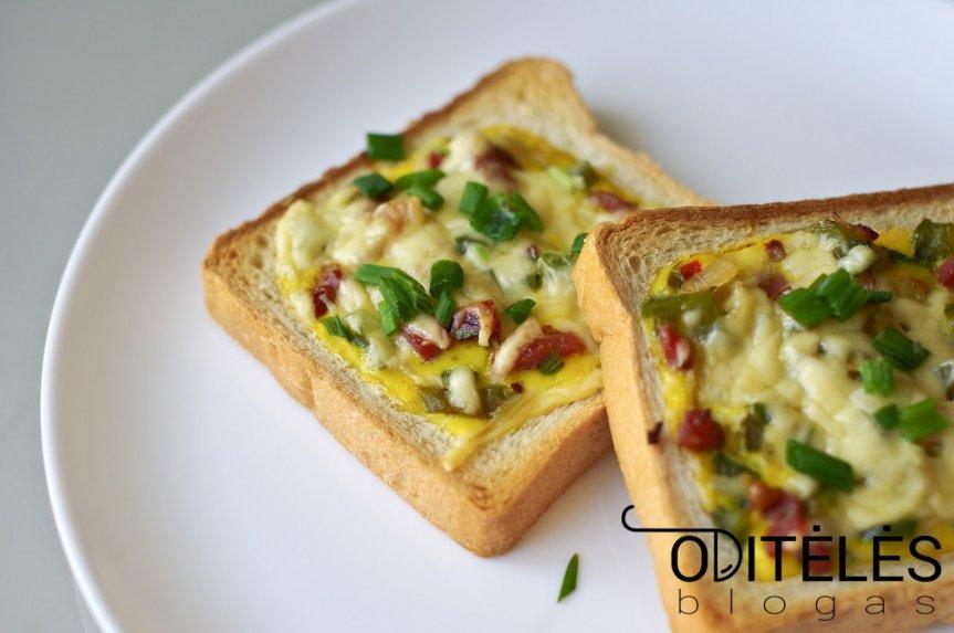Karšti sumuštiniai orkaitėje su šonine