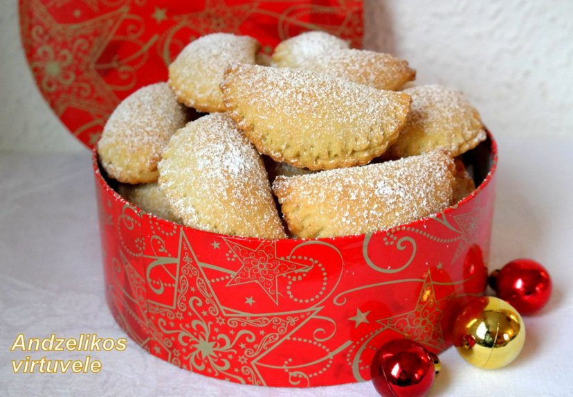 Varškiniai sausainiai su Rududu