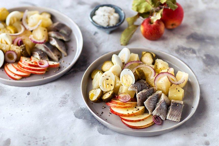 Pikantiškos salotos su ZIGMO silke