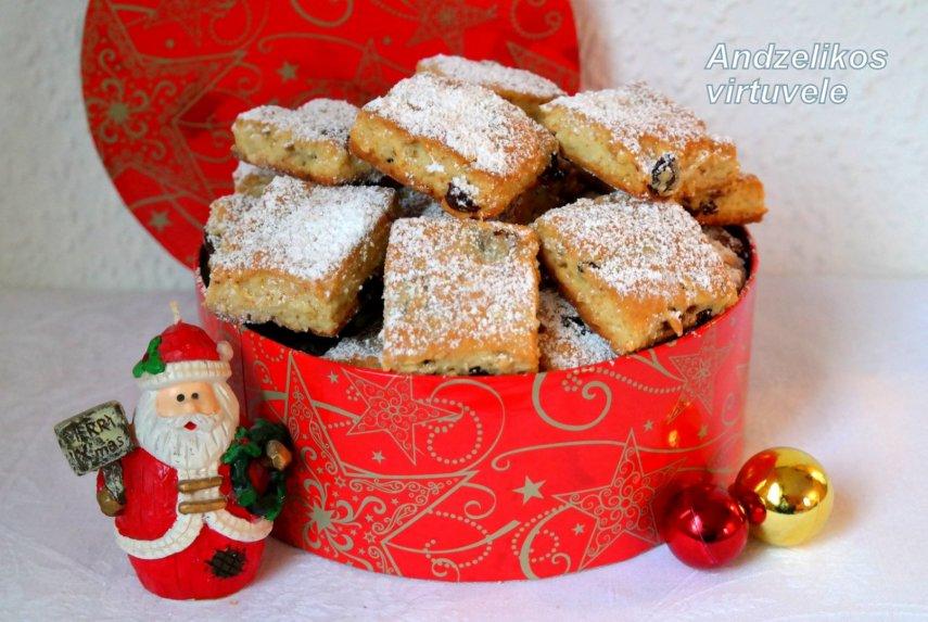 Kalėdiniai varškės sausainiai