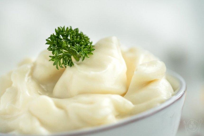 Veganiškas naminis majonezas be kiaušinių