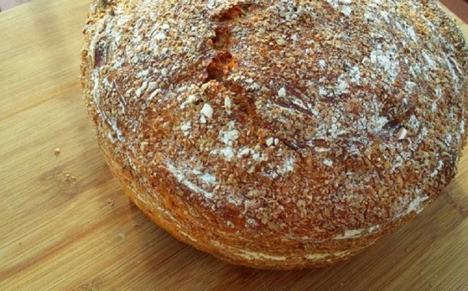 Morkų duona be minkymo