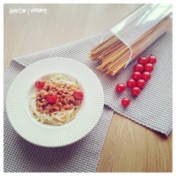 Bolonijos spagečiai