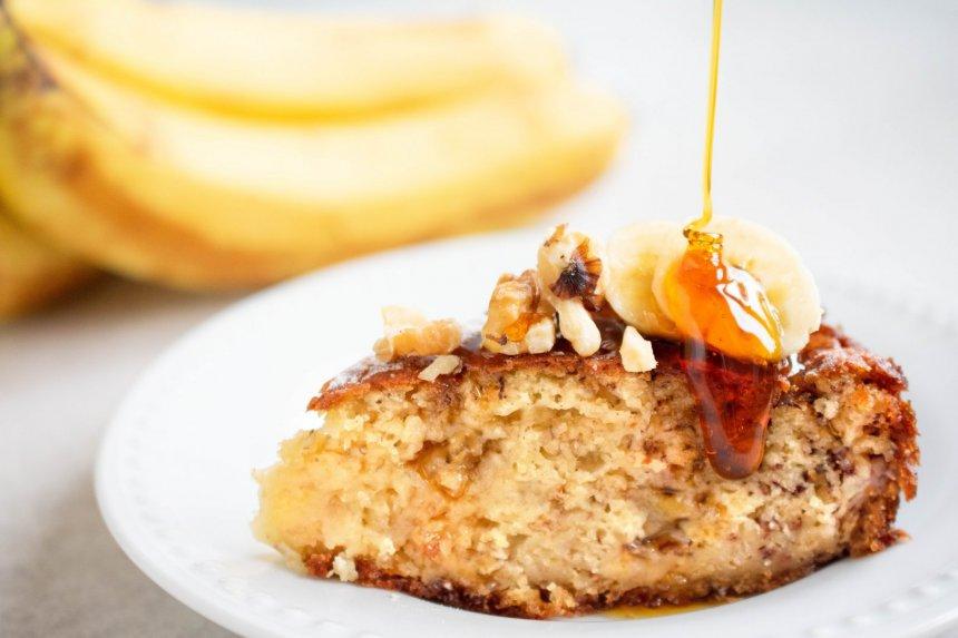 Purus bananų pyragas