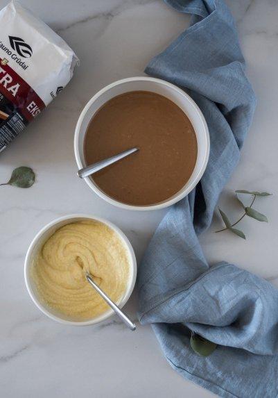 Marmurinis pieniško šokolado keksas