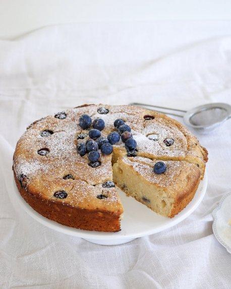 Citrininis rikotos pyragas