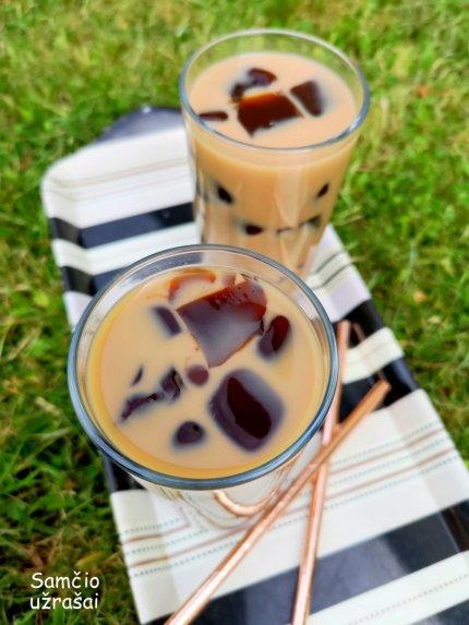 Kava su kavos želė