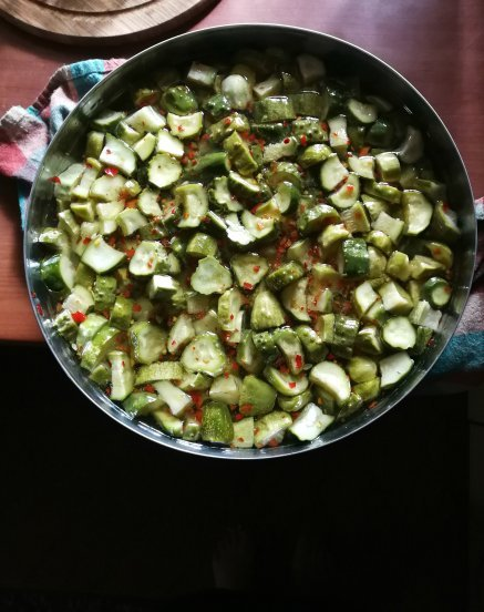 Šaltuoju būdu marinuoti agurkai žiemai