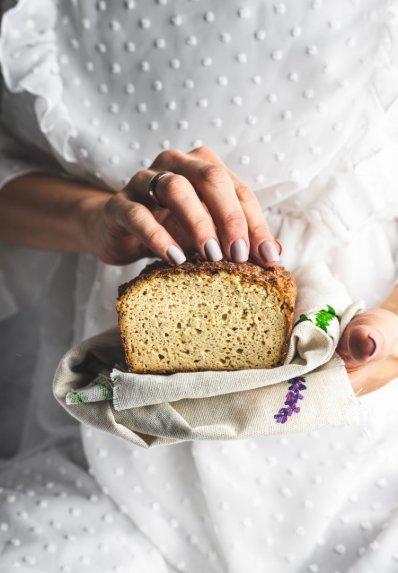 Kalafiorų žiedinių kopūstų duona be miltų