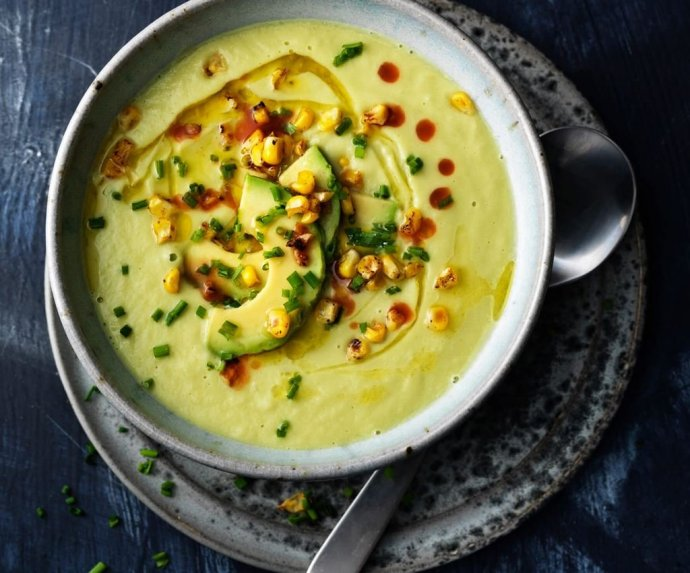Trinta avokadų sriuba - sušildanti ir greitai pagaminama