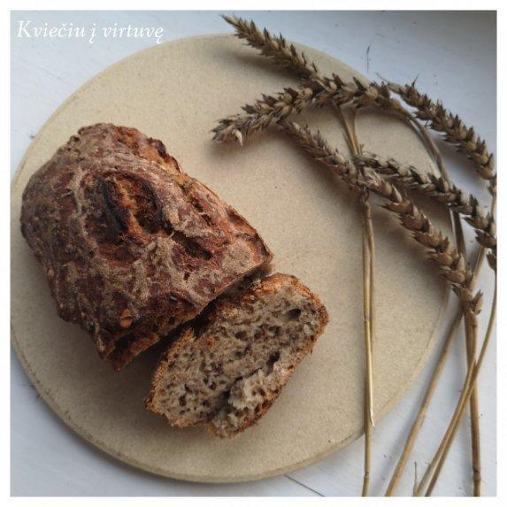 Naminė ruginė duona