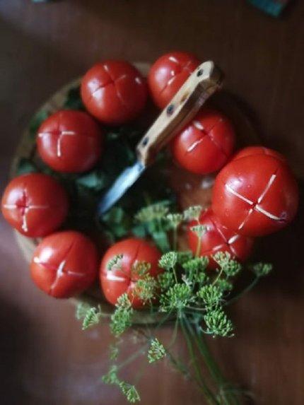 Sausai raugintos daržovės