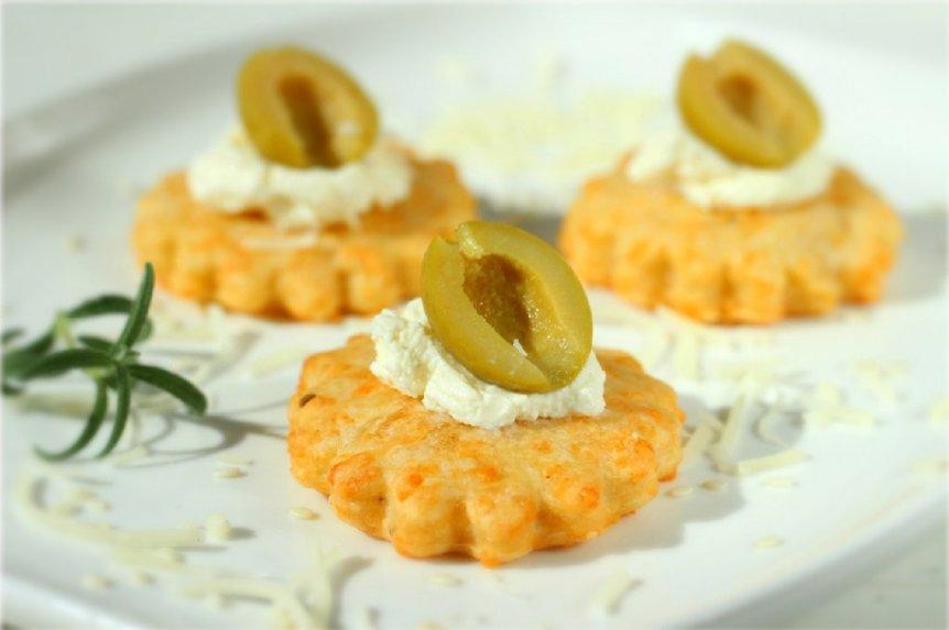 Trapūs sūrio sausainiai