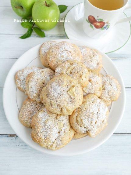 Minkšti obuoliniai sausainiai