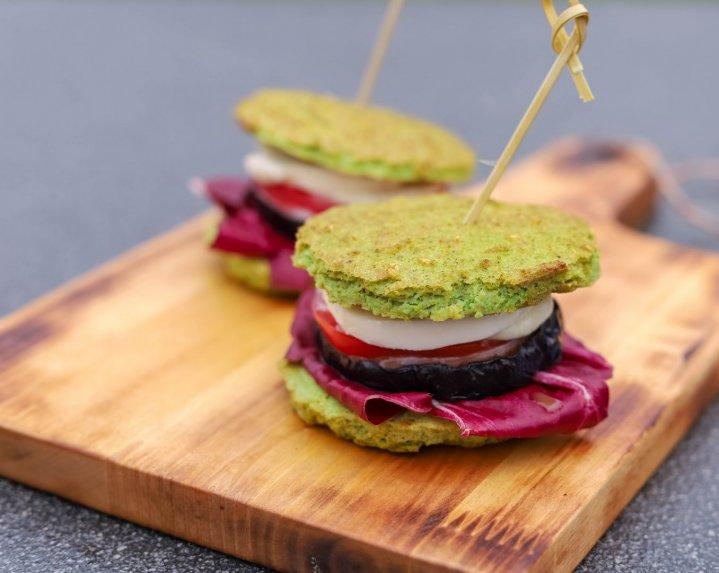 Greita brokolių duonelė be glitimo