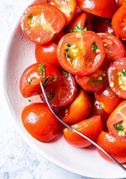 Greitai marinuoti pomidorai