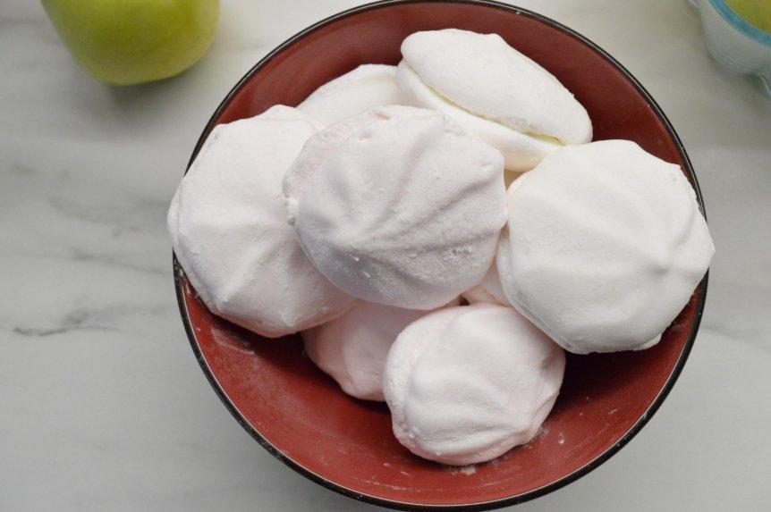 Obuoliniai zefyrai pagal senovinį receptą