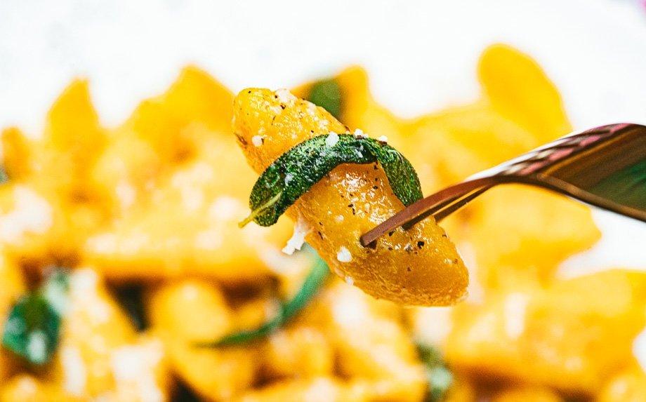 Moliūgų virtinukai gnocchi