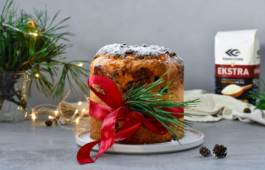 """Itališkas kalėdinis pyragas """"Panettone"""""""