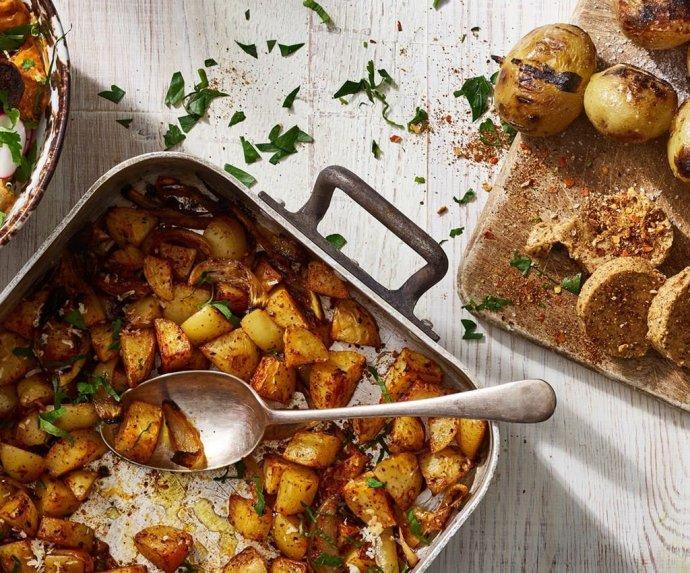 BBQ bulvės paruoštos trimis būdais